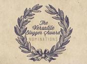 Premio VERSATILE BLOGGER AWARD