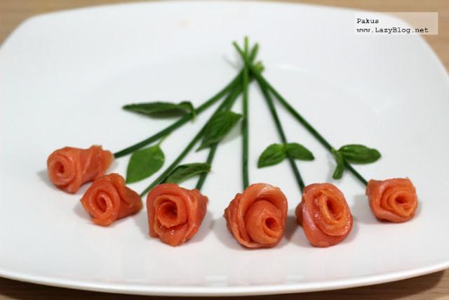 C mo hacer un ramo de rosas de salm n ahumado receta - Como secar un ramo de rosas ...