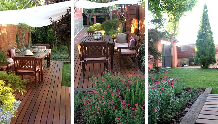 Jard n de dise o con ampliaci n de porche paperblog - Porches para jardin ...
