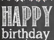 Imprimibles: Cumpleaños