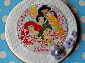 Galletas, piruletas cupcakes princesas disney papel azúcar chocotransfer
