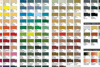 Tabla universal de equivalencias para pinturas paperblog for Tabla colores pintura