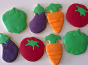 Galletas decoradas huerta""