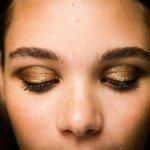 Sombra ojos dorada Jason Wu NYFW SS14