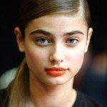 labial rojo DKNY NYFW SS14jpg