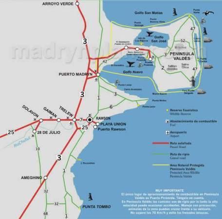 Mapa Cabo Dos Bahias