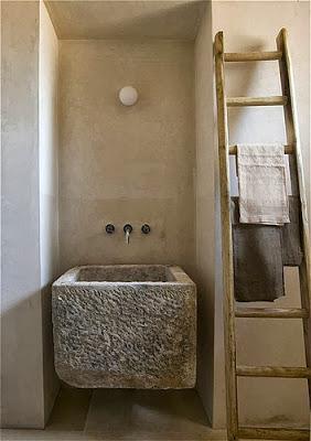 Ideas para lavabos rusticos paperblog for Lavabos de piedra rusticos