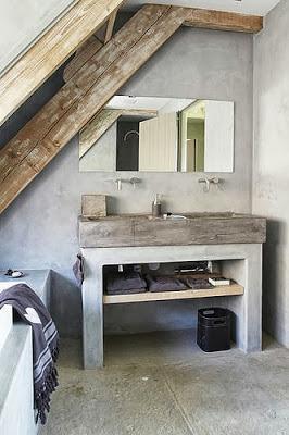Ideas para lavabos rusticos paperblog - Doucheruimte m ...