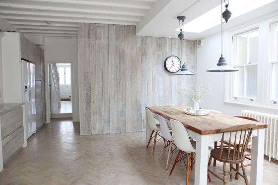 Paredes en madera paperblog - Revestimiento de paredes madera ...