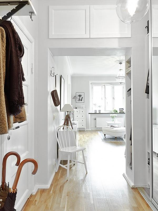 Ideas low cost y almacenaje de un piso sueco paperblog - Amueblar piso low cost ...