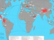 Para frikis: mapa viajes Tintín