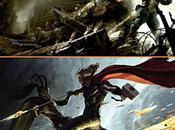 Primeros posters Thor Capitán América imágenes nuevas