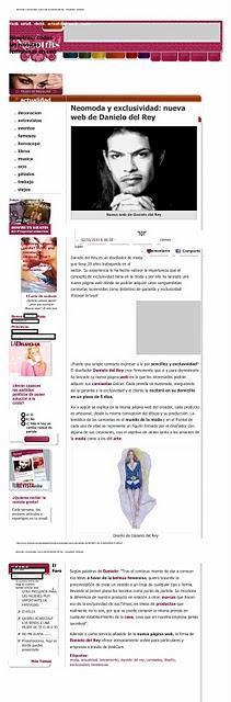 Publicación en Nosotras.com