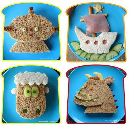Ideas creativas para la merienda paperblog for Cocina divertida para ninos