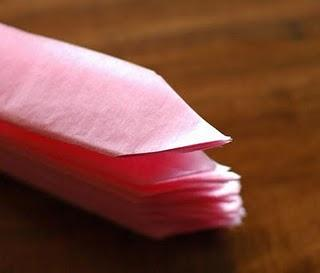 Como hacer pompones de papel
