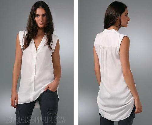 8 formas de llevar una clásica camisa de botones blanca