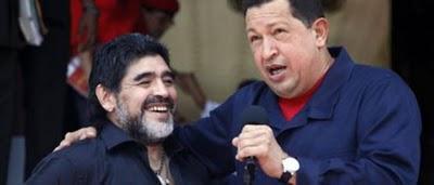 Venezuela, Colombia y Maradona