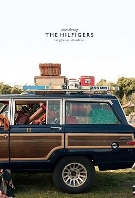 Os presento a los Hilfiger. Tommy Hilfiger Ad Campaign, Fall/Winter, 2010-2011