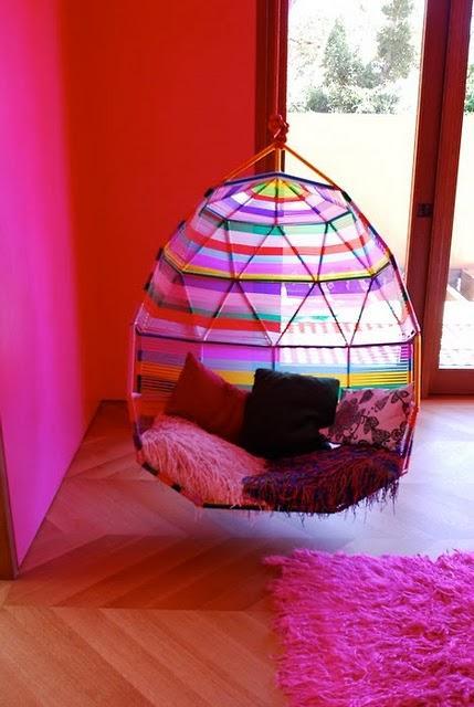 Hamacas y sillas colgantes paperblog - Sillas colgantes interior ...
