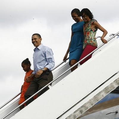 ¡Qué viene Obama, qué viene Obama!... ¡Ni que fuera el coco!