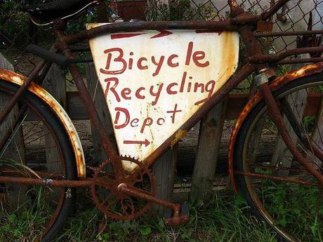 Reciclado de bicicletas