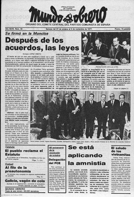 Capítulo XLIX: Los Pactos de la Moncloa