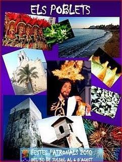 Els Poblets. Fiestas Patronales de San Salvador 2010 - Moros y Cristianos