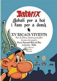 XV Ajedrez Viviente de Jávea - XV Escacs Vivents Xàbia 2010