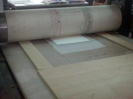 Un taller de grabado