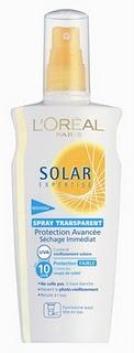 Spray Transparente Solar Expertise de L'Oréal