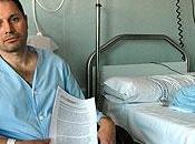 paciente, intoxicación mercurio, inicia huelga hambre Clínico Santiago tras recibir alta