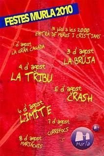 Murla. Fiestas Patronales de la Divina Aurora y Cristo del Salvador - Moros y Cristianos 2010