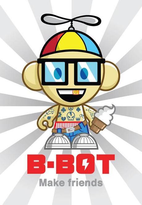 B-Bot logo aplicación