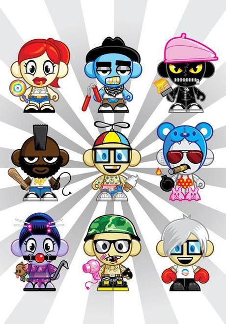 B-Bot varios personajes, configurables