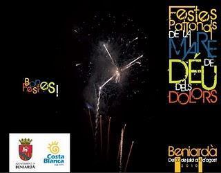 Beniardà. Fiestas Patronales de la Mare de Déu dels Dolors 2010