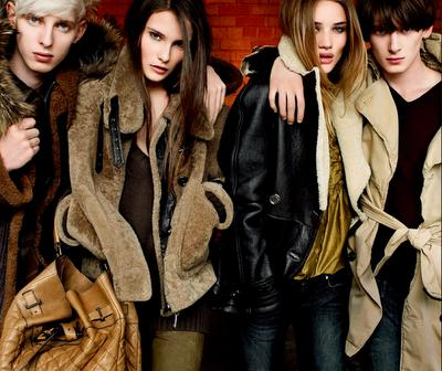 Fall Winter 2010 / 2011: Burberry