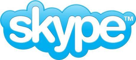 Helvetica en el logo de Skype