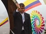 Llegó Rafael Correa Santiago Cuba este septiembre