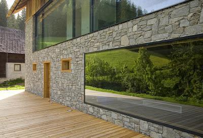 Casa de campo moderna en austria paperblog for Decoracion casa de campo moderna