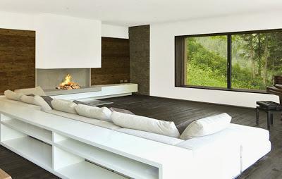 Casa de campo moderna en austria paperblog for Casas de campo modernas minimalistas