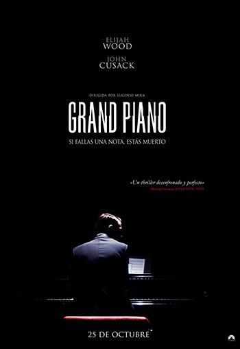 """Primer tráiler de """"Grand Piano"""" del español Eugenio Mira"""