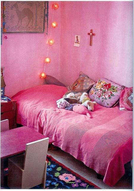 Guirnalda en cuartos de ni as paperblog for Cuartos de ninas vonitas