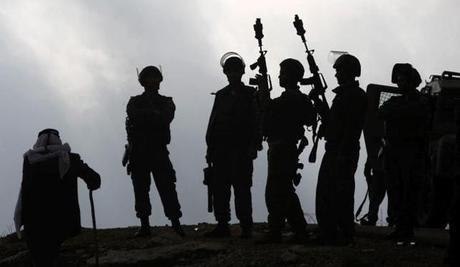 soldadosisarelíes en palestina