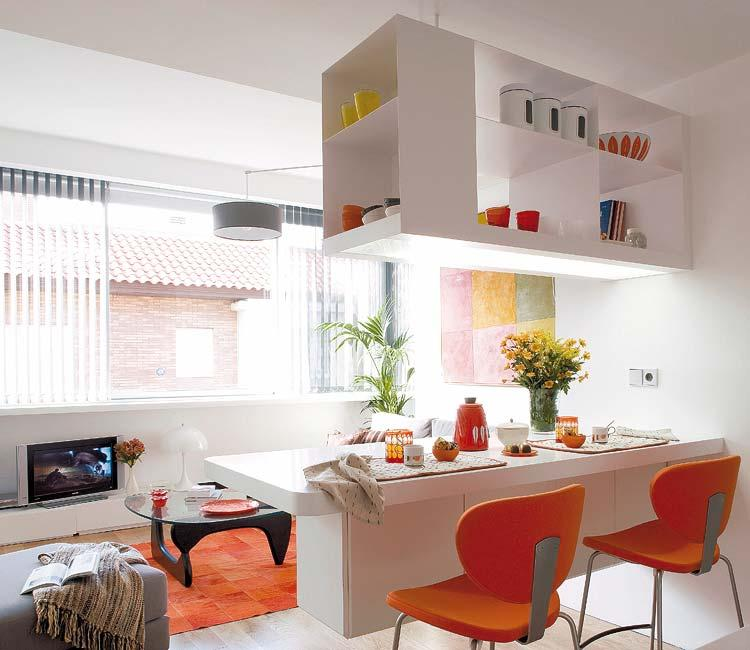 Ideas y trucos para peque os espacios paperblog for Modelos de cocinas en espacios pequenos