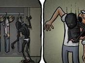 Comics representan depresión frustraciones