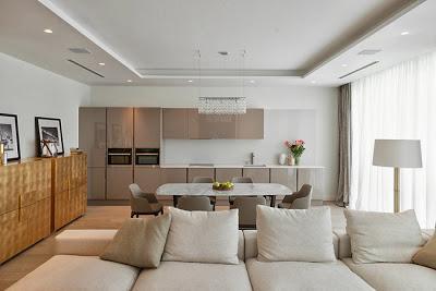 Apartamento minimalista en moscu paperblog for Apartamentos minimalistas
