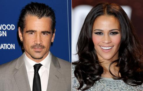 Collin Farrel y Paula Patton