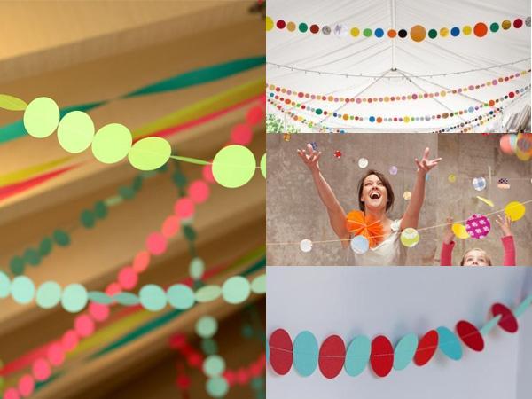 Ideas para la decoraci n de fiestas puntos paperblog - Ideas originales para una fiesta ...