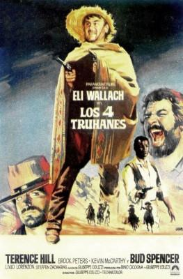 Los 4 truhanes 1969 Bud Spencer y Terence Hill poster