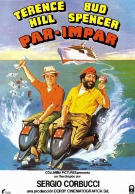 Par Impar 1978 Bud Spencer y Terence Hill poster